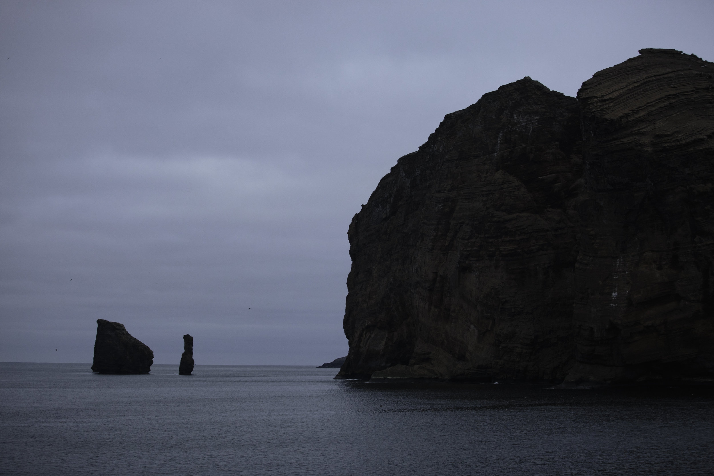 Bailey Head, Deception Island at 5:30am.