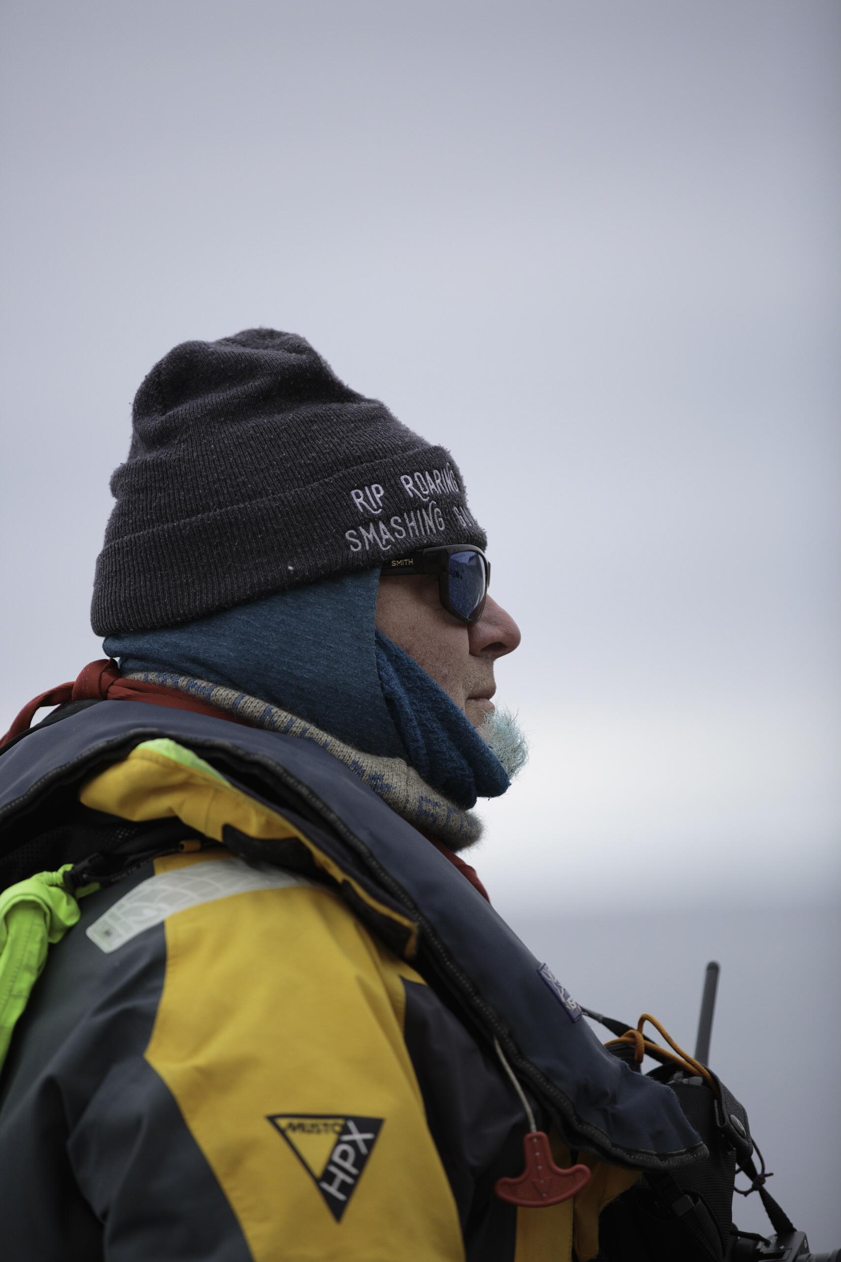 Kenn from Gustafson, Alaska.