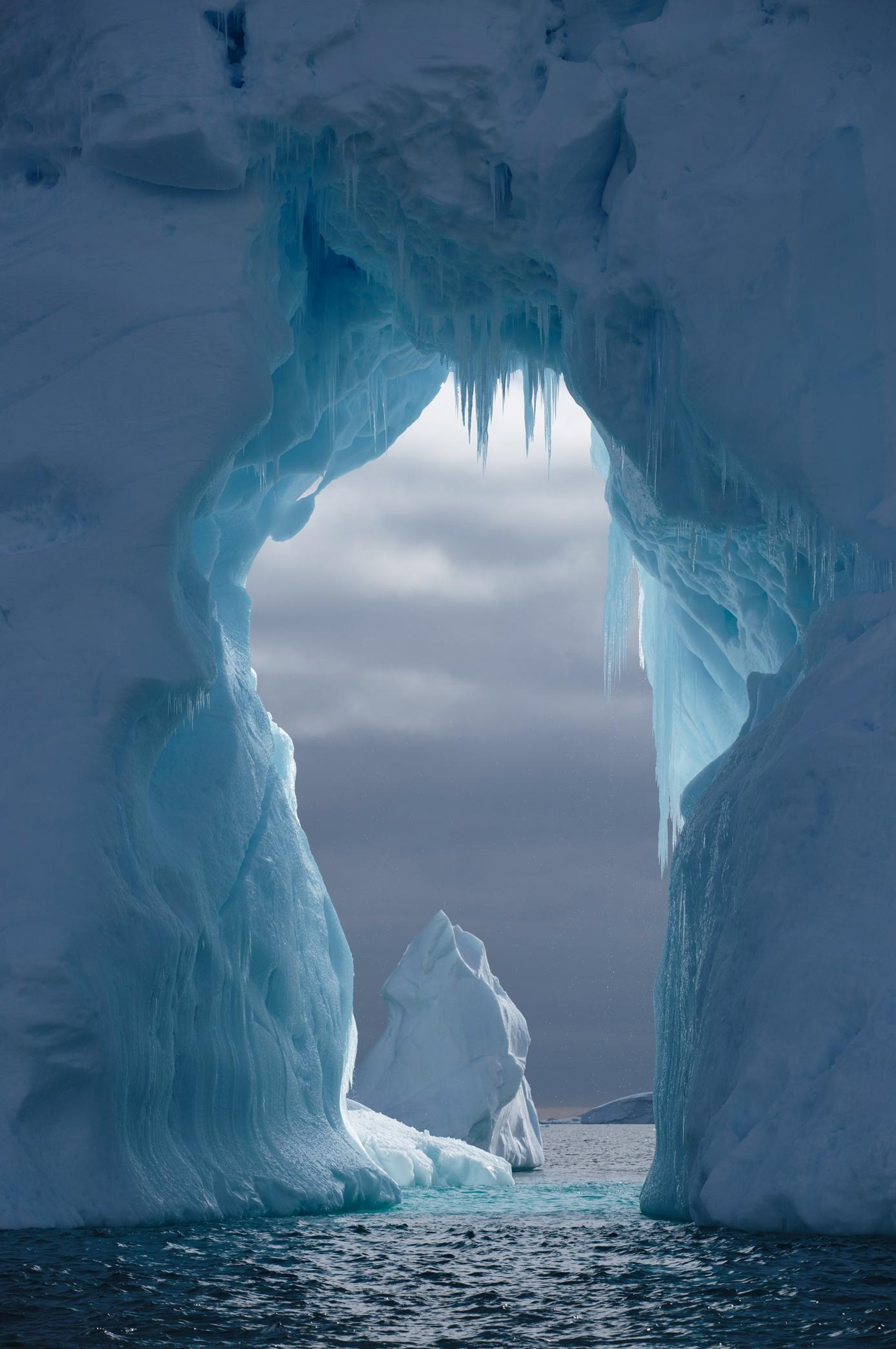 Ice Arch Antarctic Peninsula