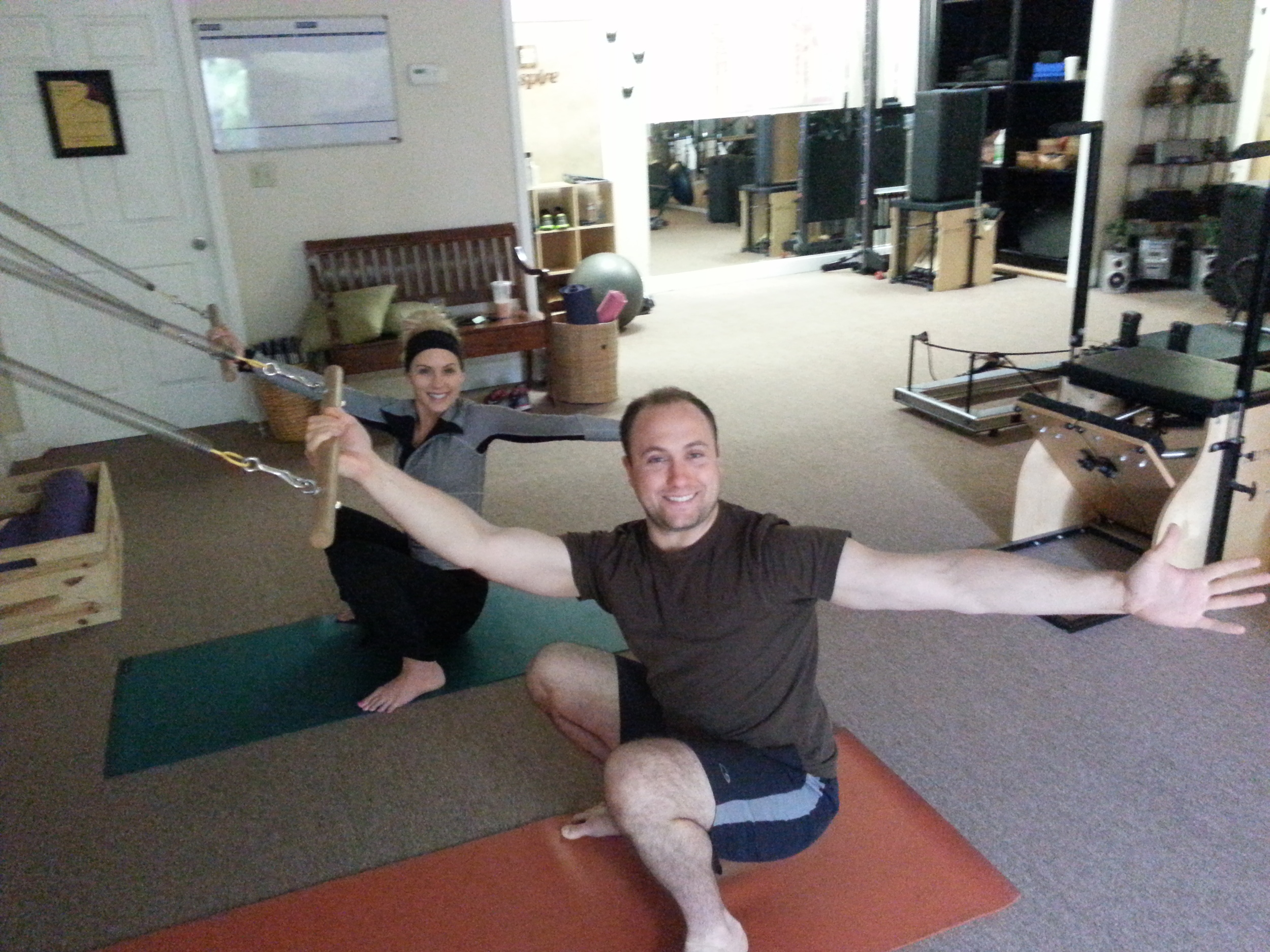 Pilates with Sam Scholtes