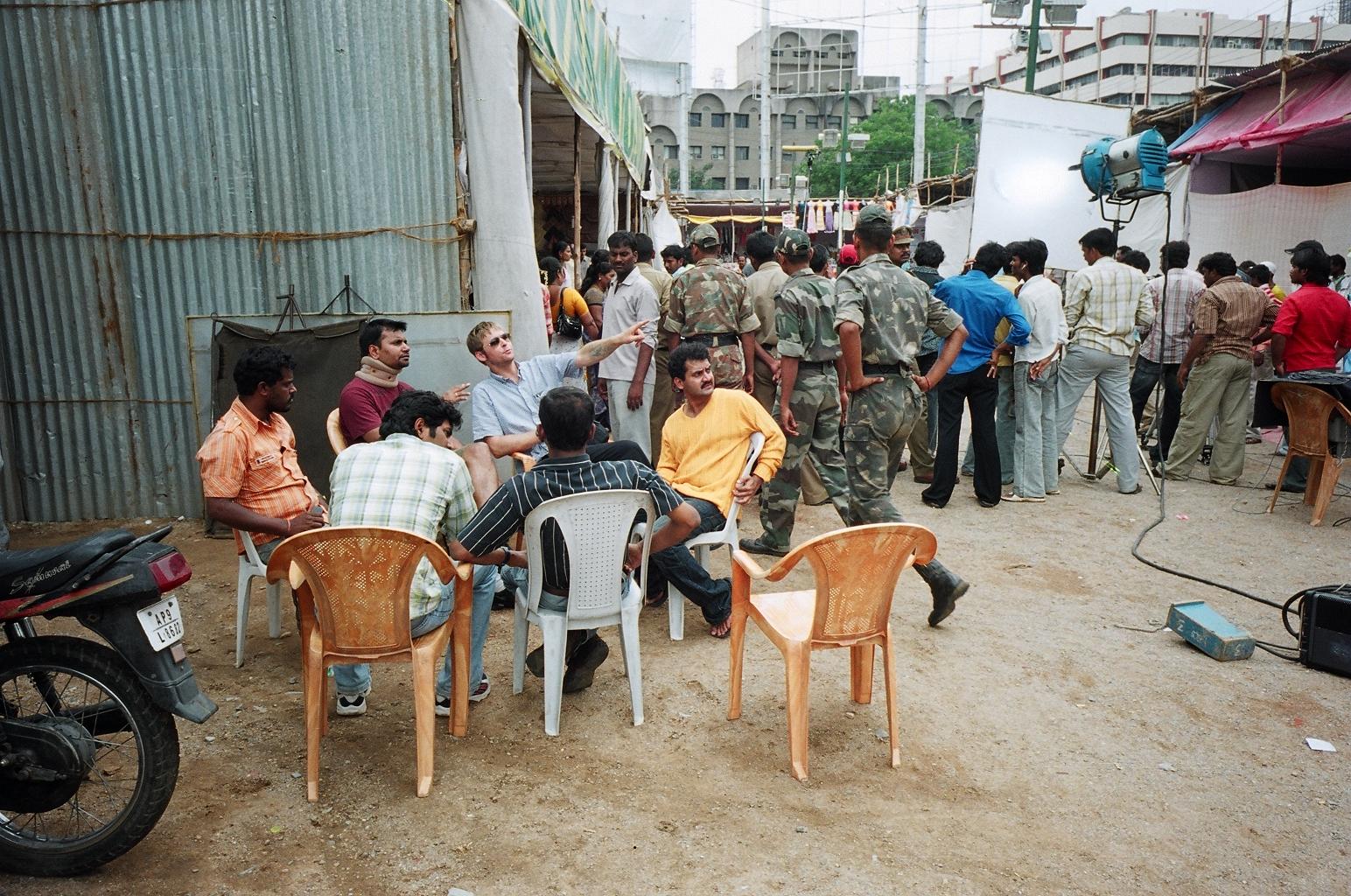 Film set / Hyderabad, India