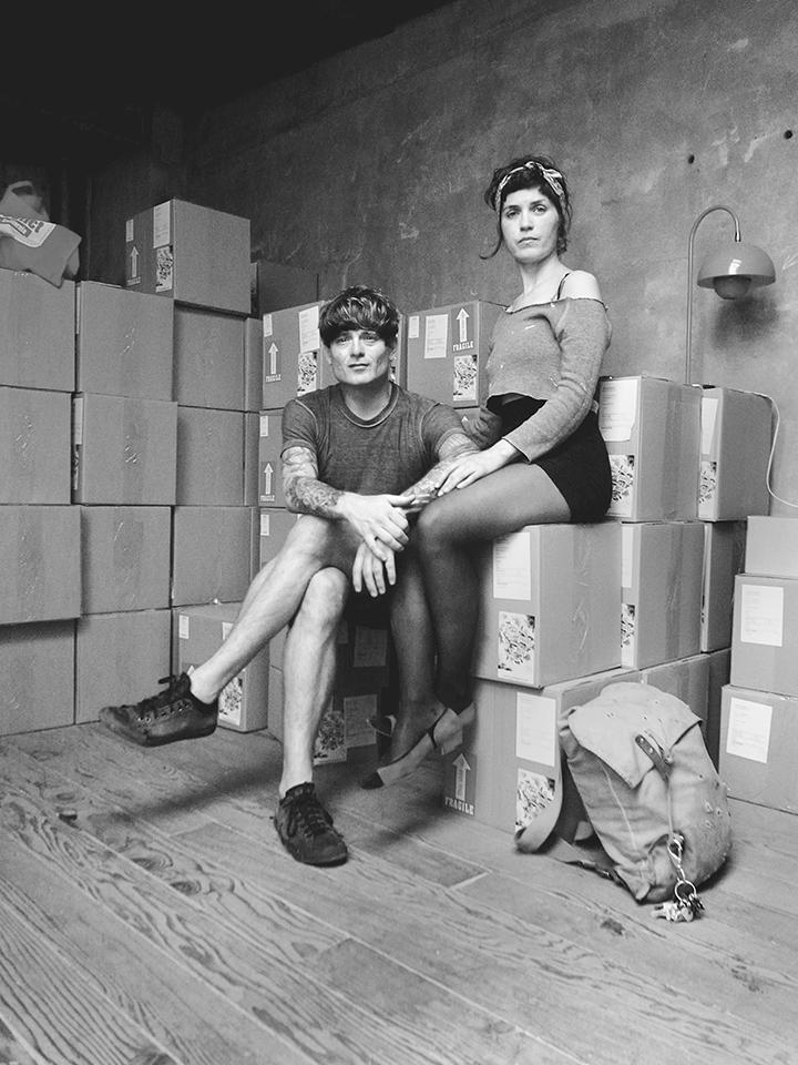 John Dwyer + Heidi / Castle Face Records /San Francisco, CA