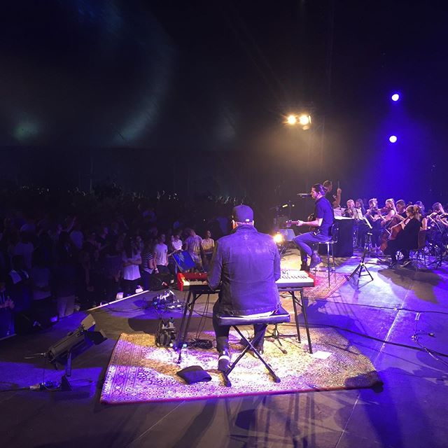 It started as an experiment, but what unfolded blew us all away. Tb to our @newdayevent string section 🎻🎻🎻  We took a risk to exchange our high energy, full Newday band arrangements with a small, raw, unplugged setup with an 18 piece string section, many of them Newday delegates in their teens.   Thanks again to all those involved. It was such a special moment we decided to turn the whole worship time into one long EP.   Enjoy unplugged worship, go check out: Alive With Strings   #strings #worshipmusic #unplugged #allcomesbacktoYou