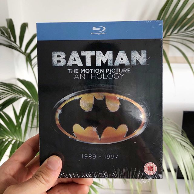 New addition to the blu-ray collection🤘🏼 Best movie from this boxset and worst movie? 🦇  #batman #bluray #batmanforever