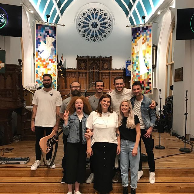Back from a fantastic time with the Songs of Praise crew. Huge well done to the team - so much fun and so very hot! Airing sometime in the next few weeks, watch this space.  #songsofpraise #worshipmusic #worshipleader #burgerkingatmidnight
