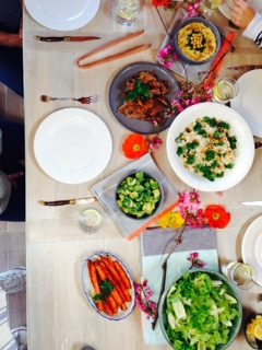 Meal time at Natural Edge HQ.