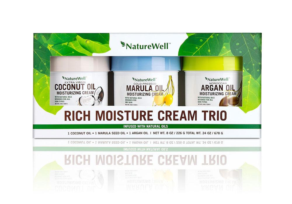 Rich Moisture Cream Trio Pack for Costco