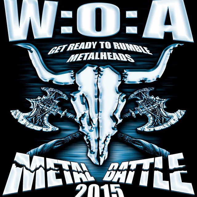 Don't forget Wacken Metal Battle Sweden this weekend on March 21th! More info on their web! #live #metal #music