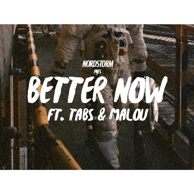 """New Release!  Nordstorm ft. Tabs & Malou - """"Better Now"""" Listen to this smooth Hiphop anthem on Spotify!  Link in Bio"""