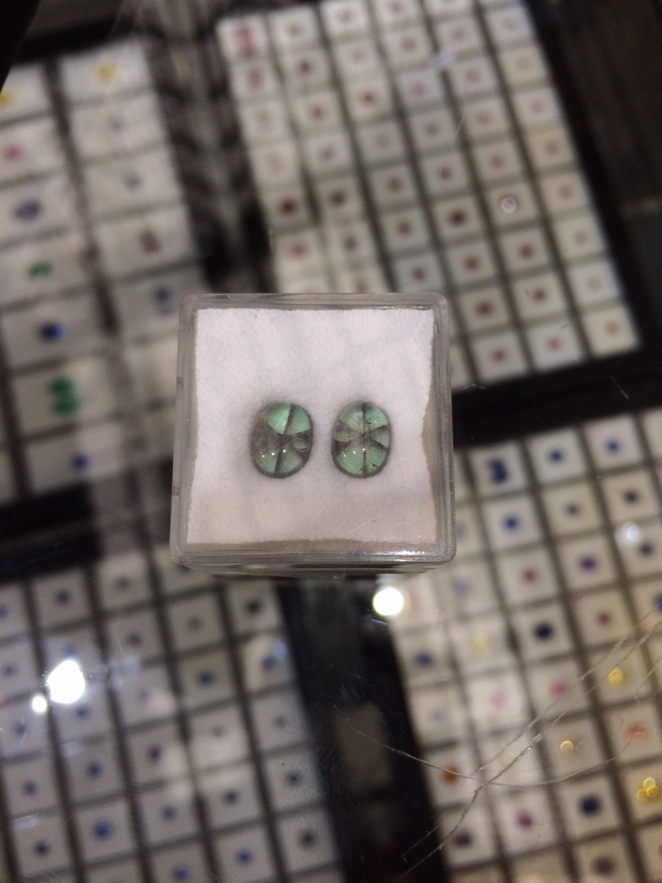 Rare trapiche emerald トラピチェエメラルド