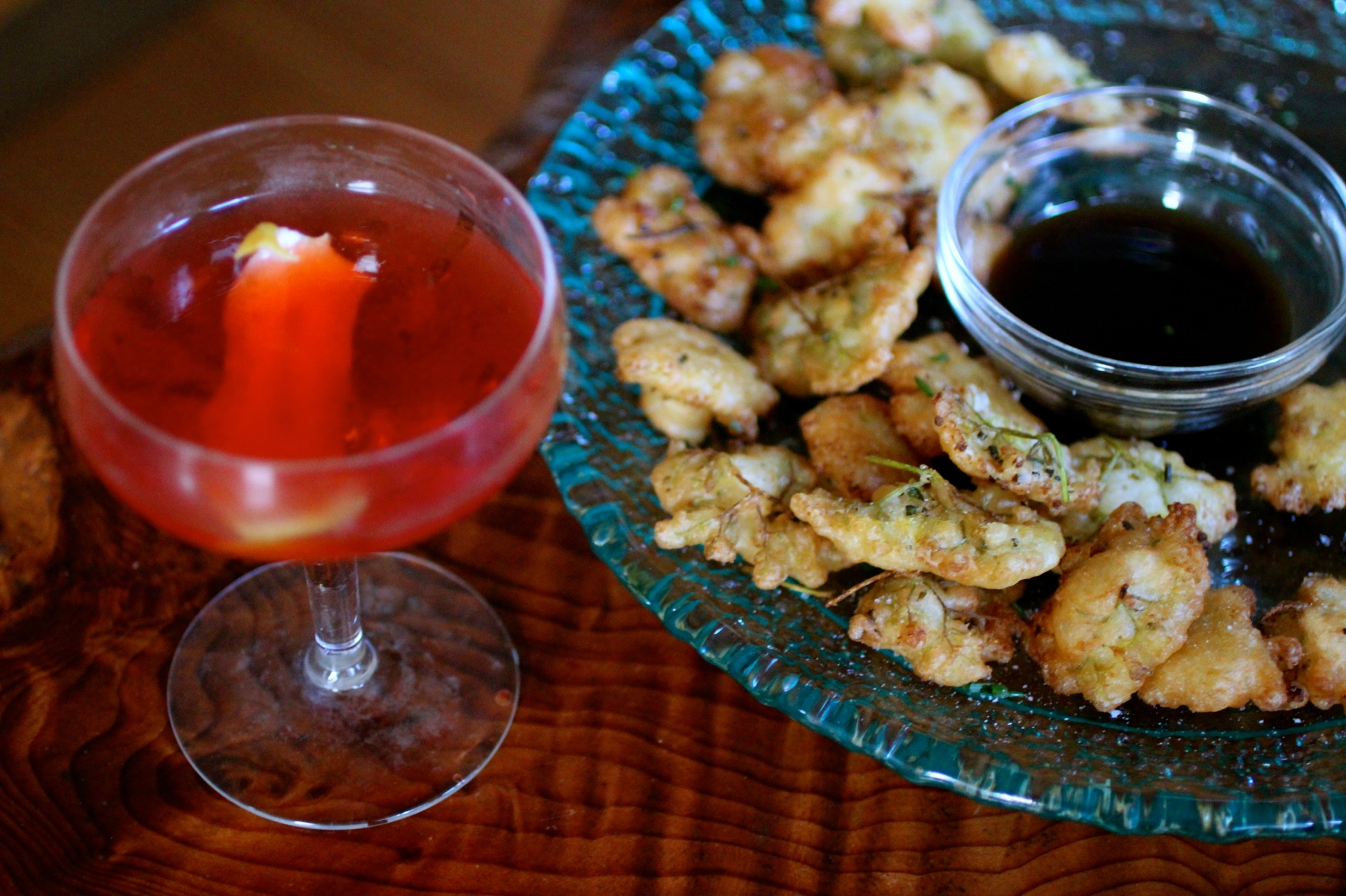 Ponzu not needed, but a cocktail is!