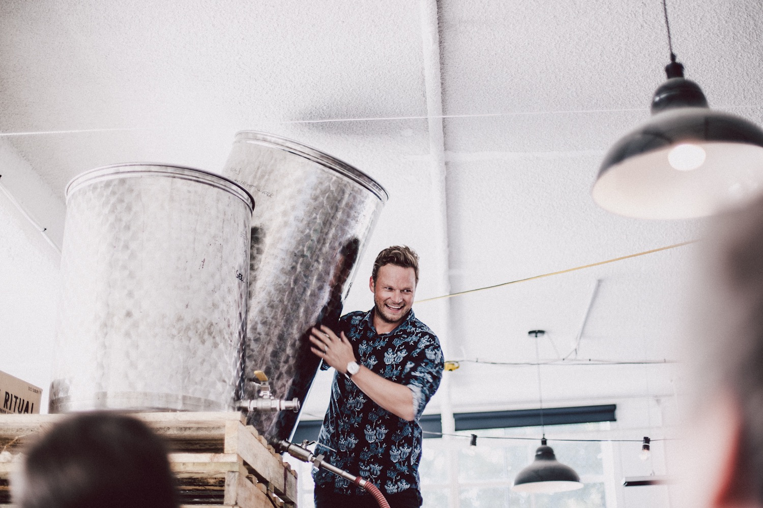 Alex Byrne (The guy who knows how to make wine)