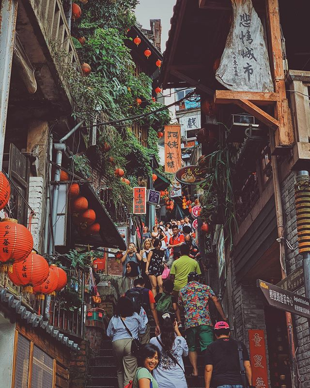 The Jiufen old town, which inspired a wide range of pieces of art, literature, and films in Asia.