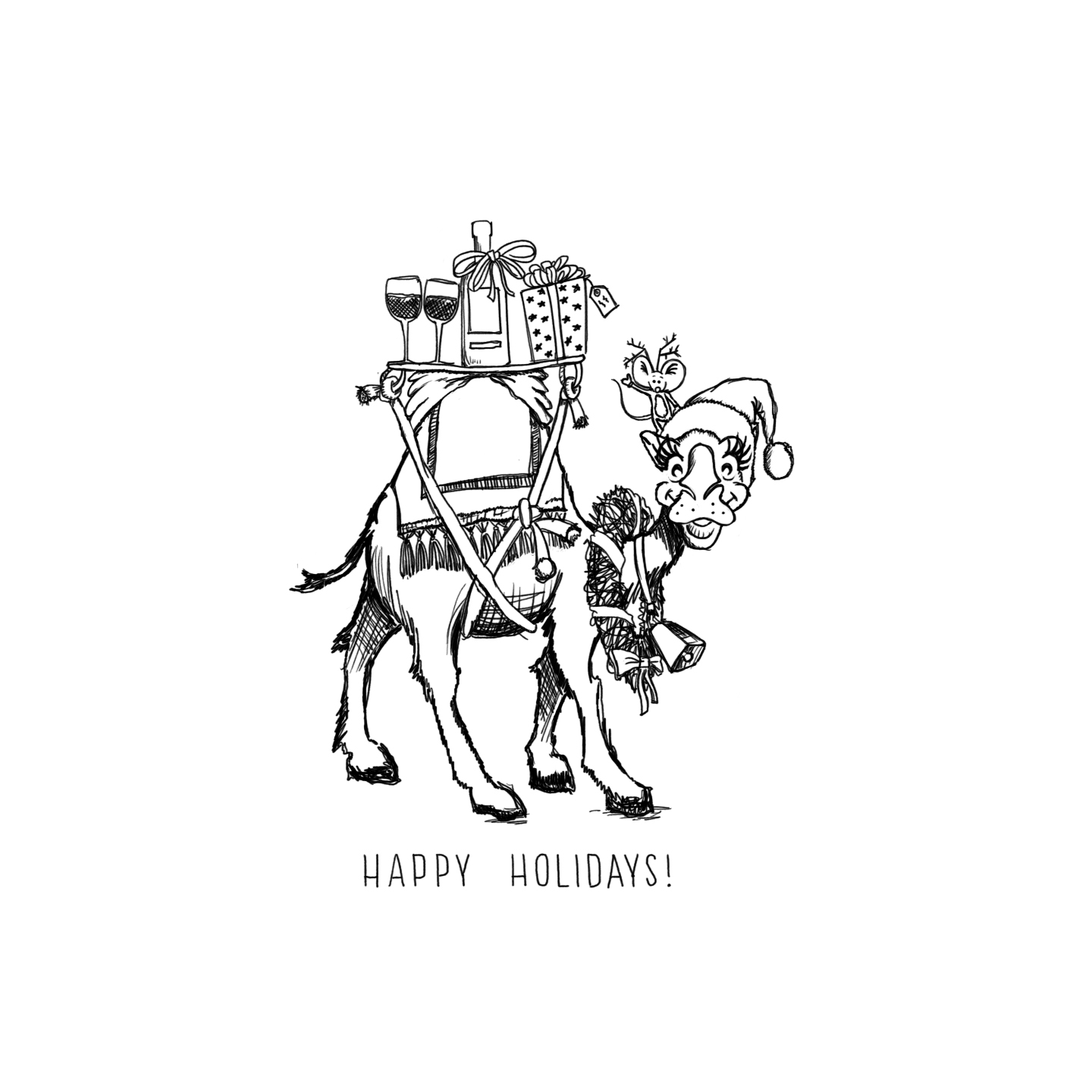 A holiday postcard for Terroir Selections