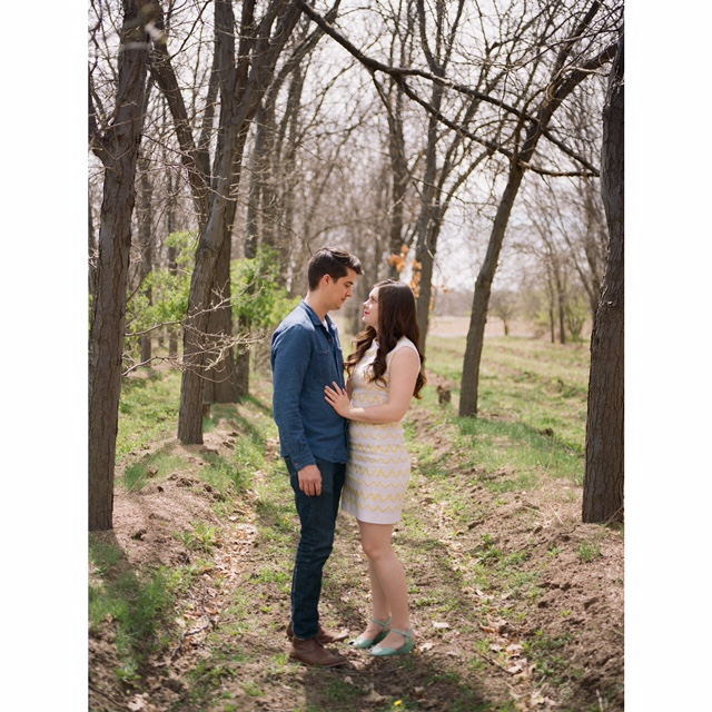 I photographed Natalie and Andy for their engagement