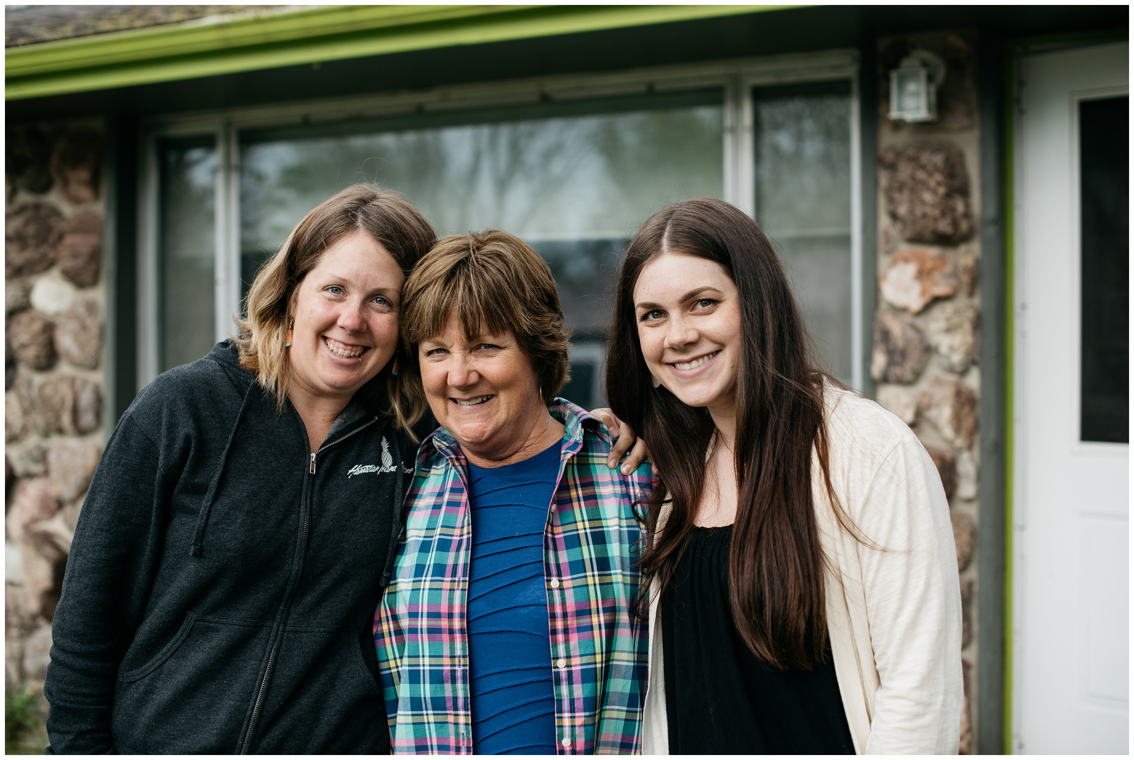 three pretty ladies- two daughters and one mom - Fort Collins, Colorado - Mother's Day 2016