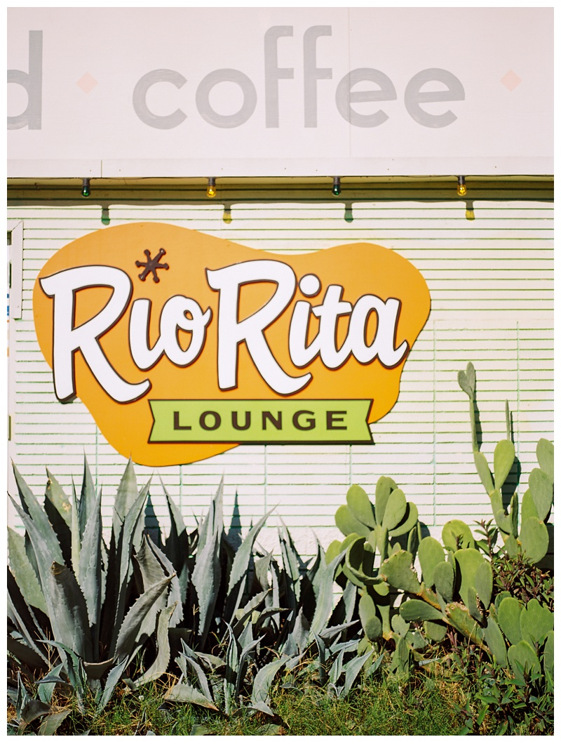 The Rio Rita Lounge in Austin, Texas. Photography by Sonja Salzburg of Sonja K Photography.