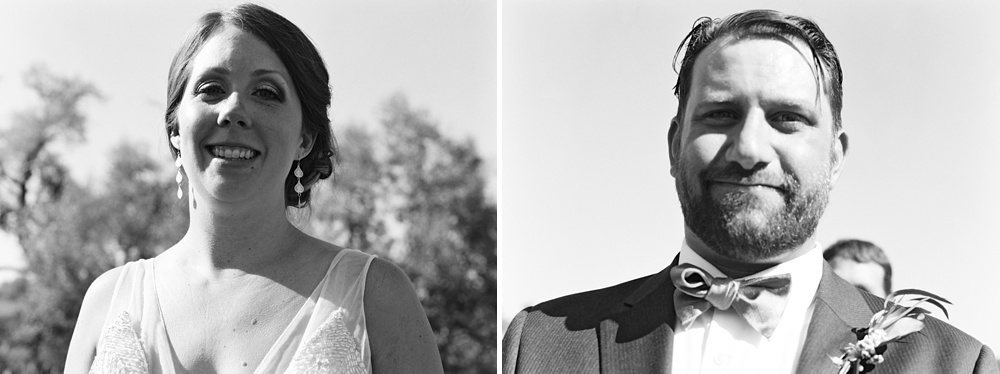 the images we took of each other during our ceremony - taken on a Mamiya 645 - developed and scanned by  The Find Lab