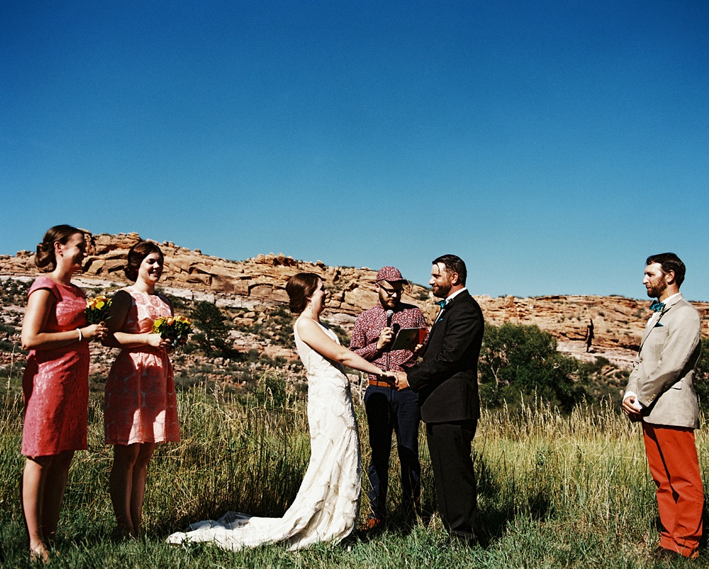 Max and Sonja's wedding at Lory State Park.