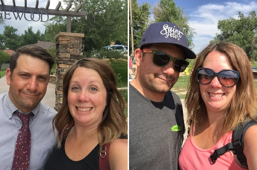 Still shooting weddings, and enjoying bike rides together!