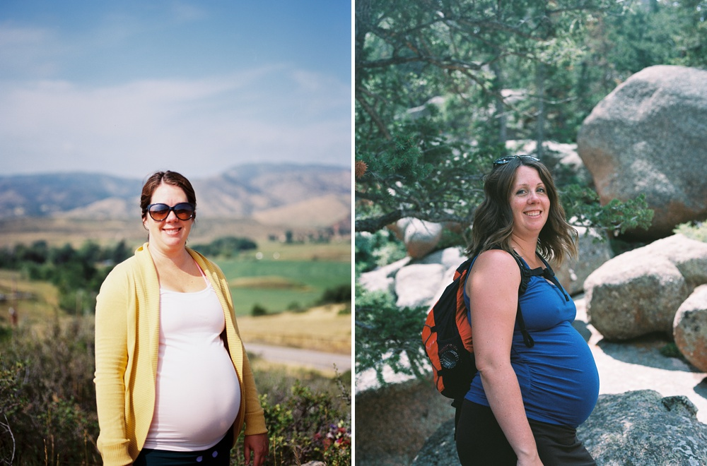 Left: morning drive up to Bingham Hill in Fort Collins Right: hiking around Vedauwoo in Wyoming with family in town from Florida.