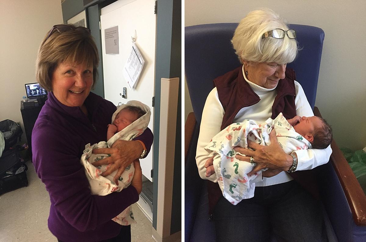 New grandmas!