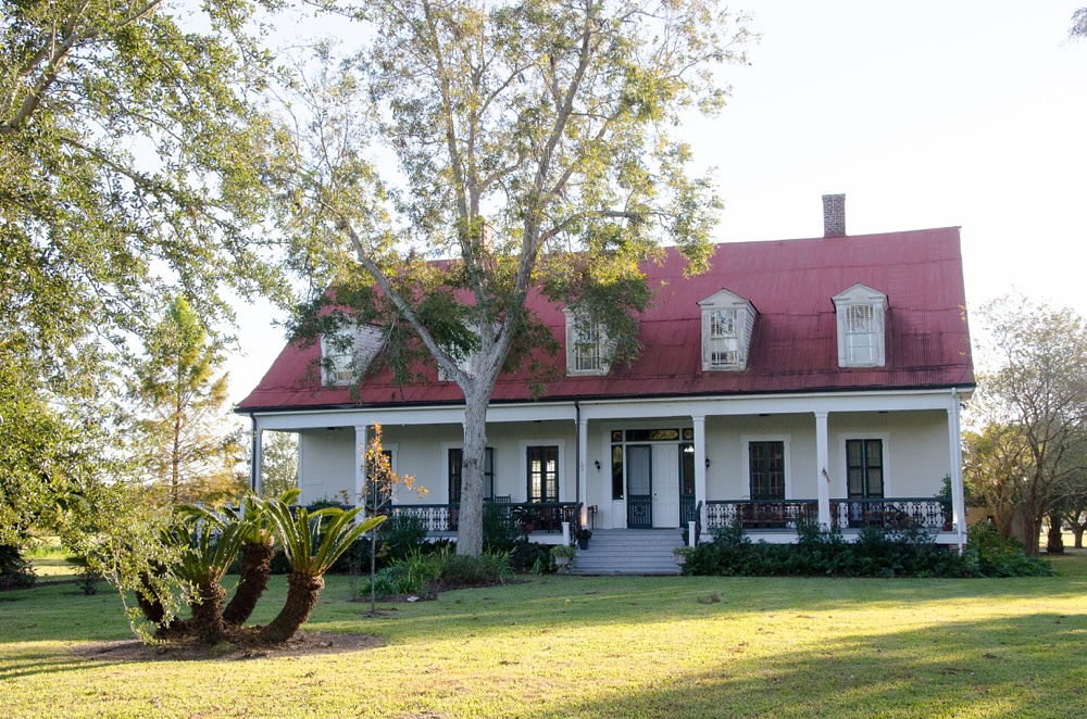 The Big House at Woodland Plantation outside of Port Sulphur, Louisiana. Fly fishing travel photography by Max Salzburg of Sonja K Photography.