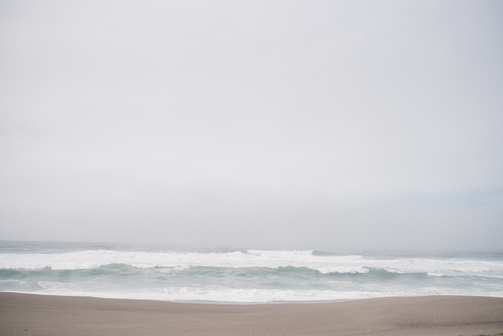 The Pacific Ocean at South Beach of Point Reyes in California. Travel photography by Sonja Salzburg of Sonja K Photography.