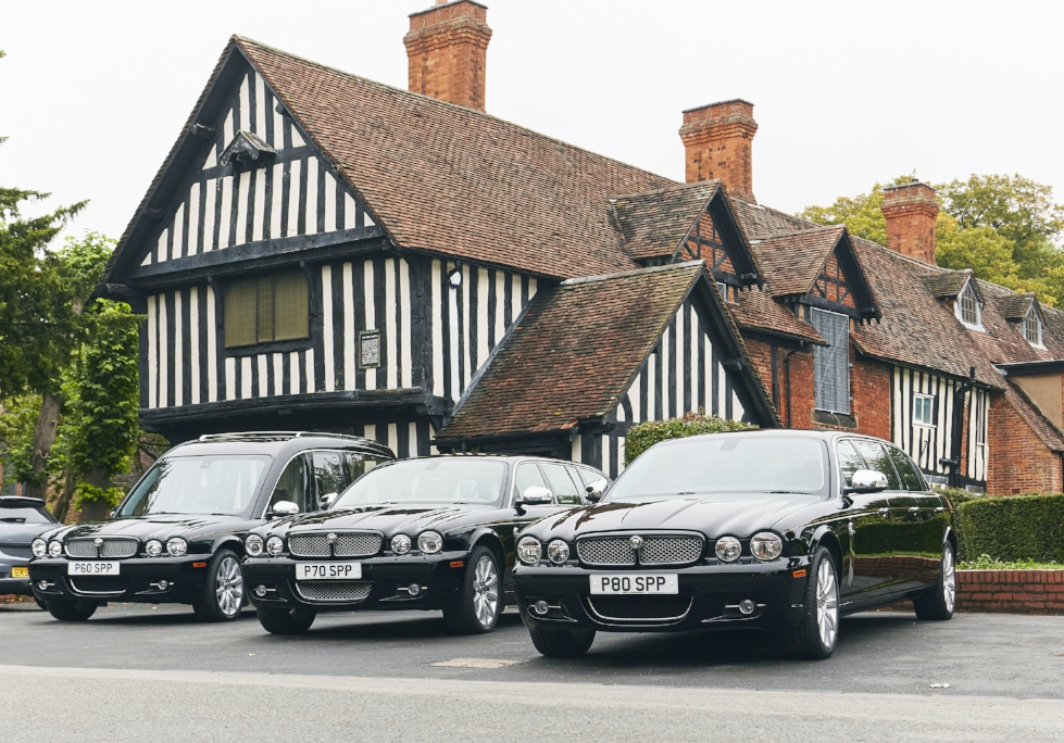 Vehicles - We can offer our clients a choice of modern day motor hearse and limousines or, for a more traditional send off, we have our black and white horse drawn carriages which can be led by a team of two or four horses. For something different we also offer a a range of motor cycle hearses.
