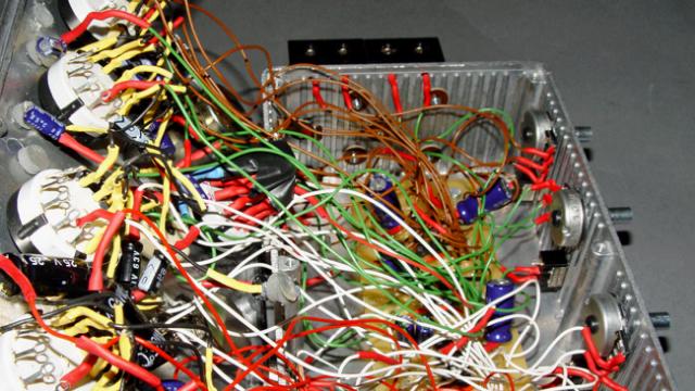 Home-made oscillators.