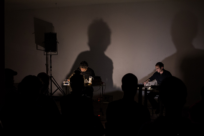 Concert at Studio Loos, The Hague (NL), 2012. Photos by Stephan C. Kaffa.