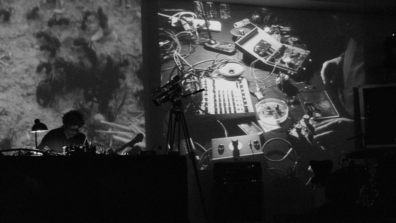 Live at Sonar Festival, MACBA.