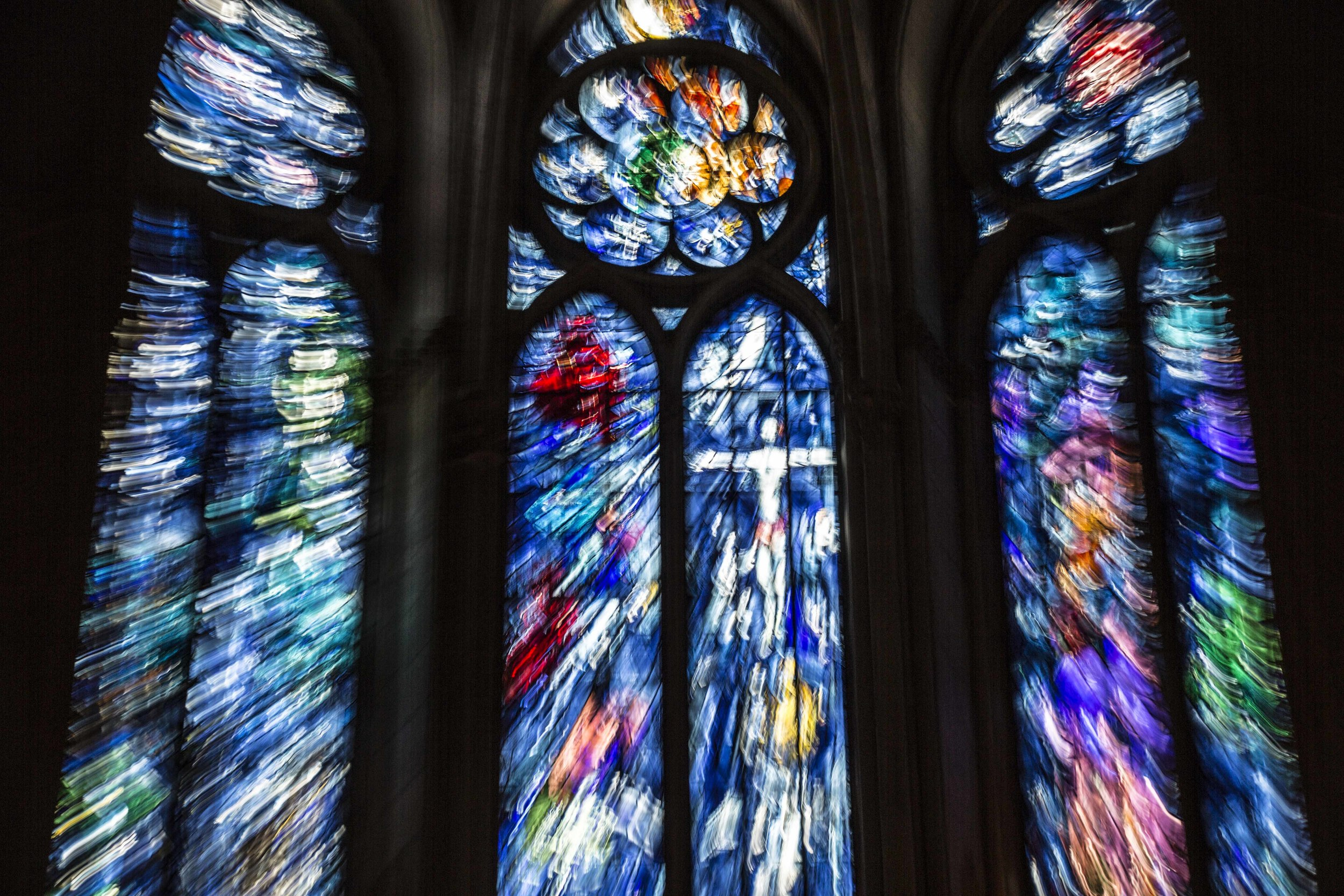 Colors of Reims Cathedral #3, 2012