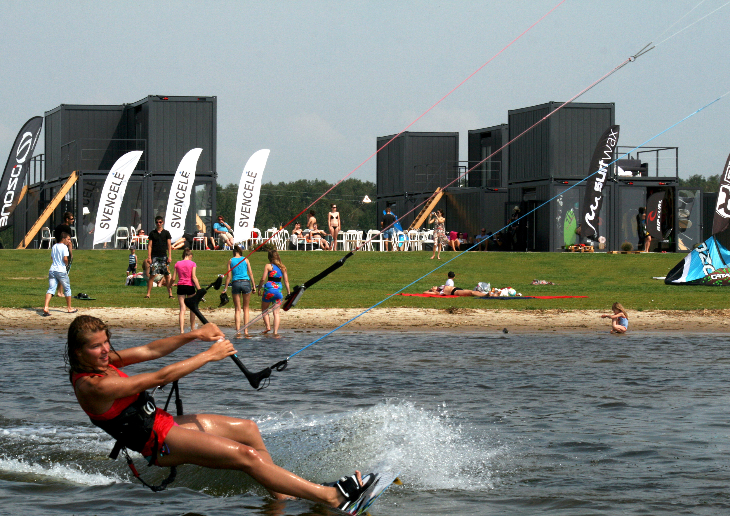 DO ARCHITECTS Svencelė Kiteboarding and Windsurfing Centre