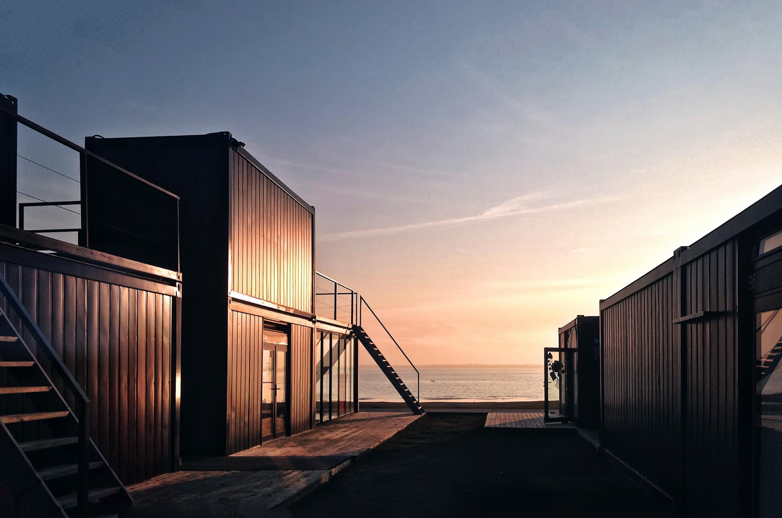 DO ARCHITECTS Svencelė Kiteboarding and Windsurfing Centre