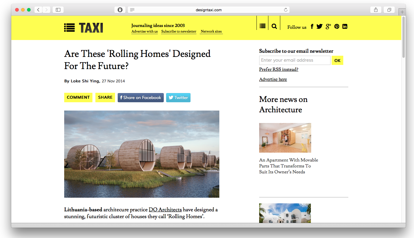 DO architects_Rolling Homes featured on Design Taxi.png