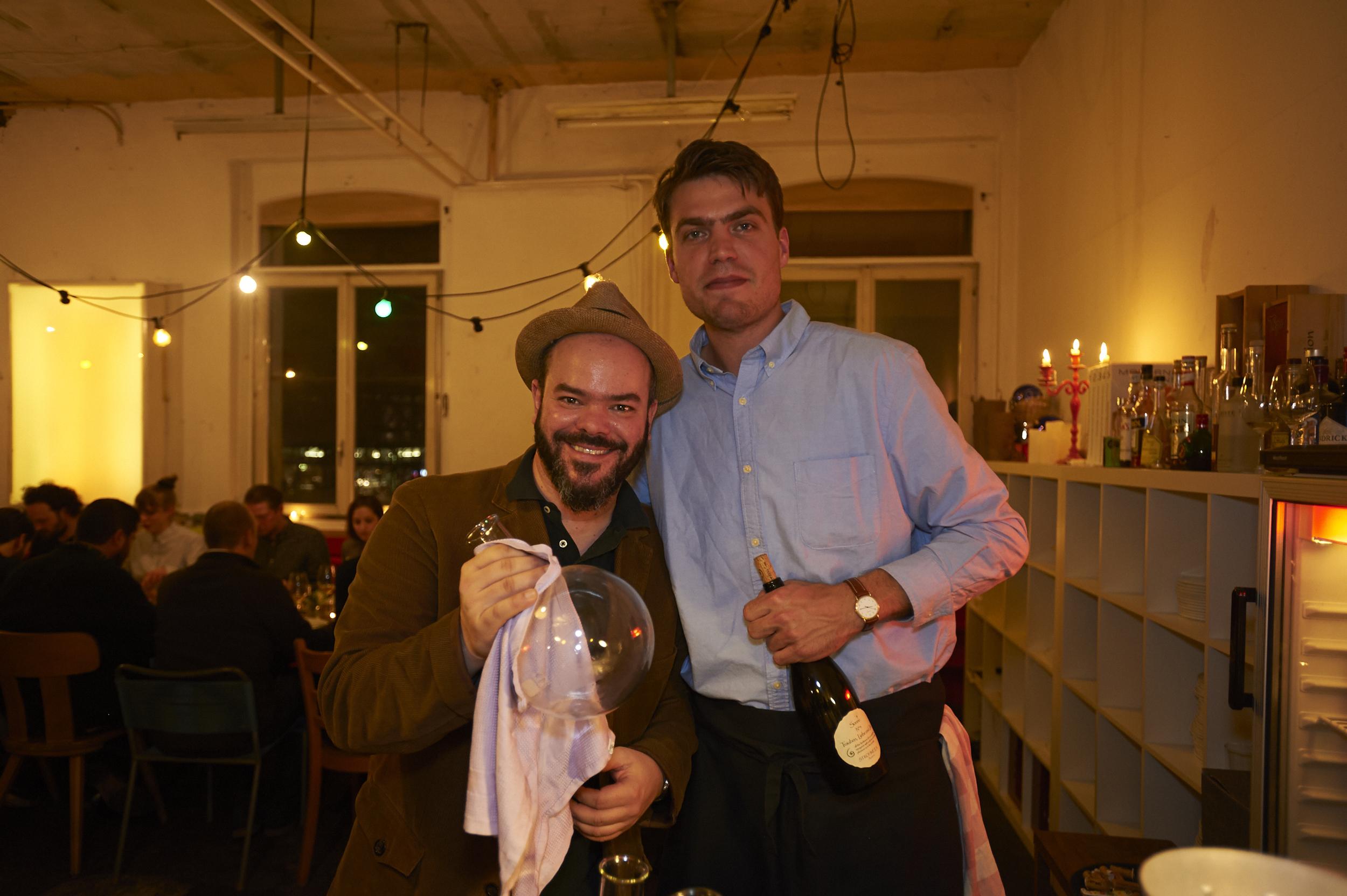 served with Weinmanufaktur Strohmeier, Sonne 4