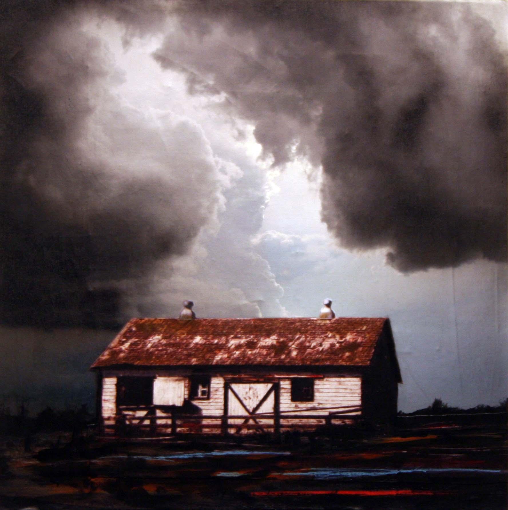 "36""x36"" Storm - Sold"
