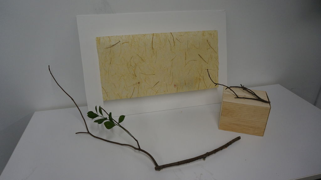 Step 8: Set up on a table or a wall.  The branch can be placed on the table as an ornament item as well.