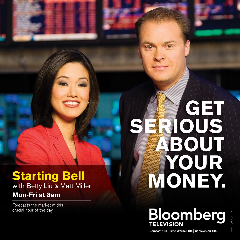 Bloomberg Starting Bell Advertisement