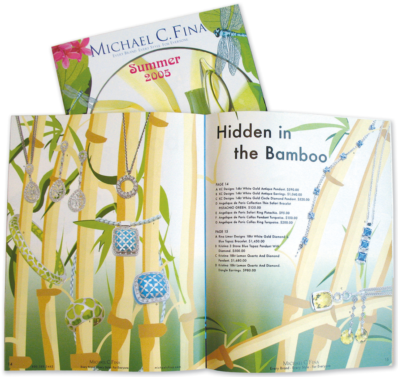 Michael C. Fina Summer Catalog