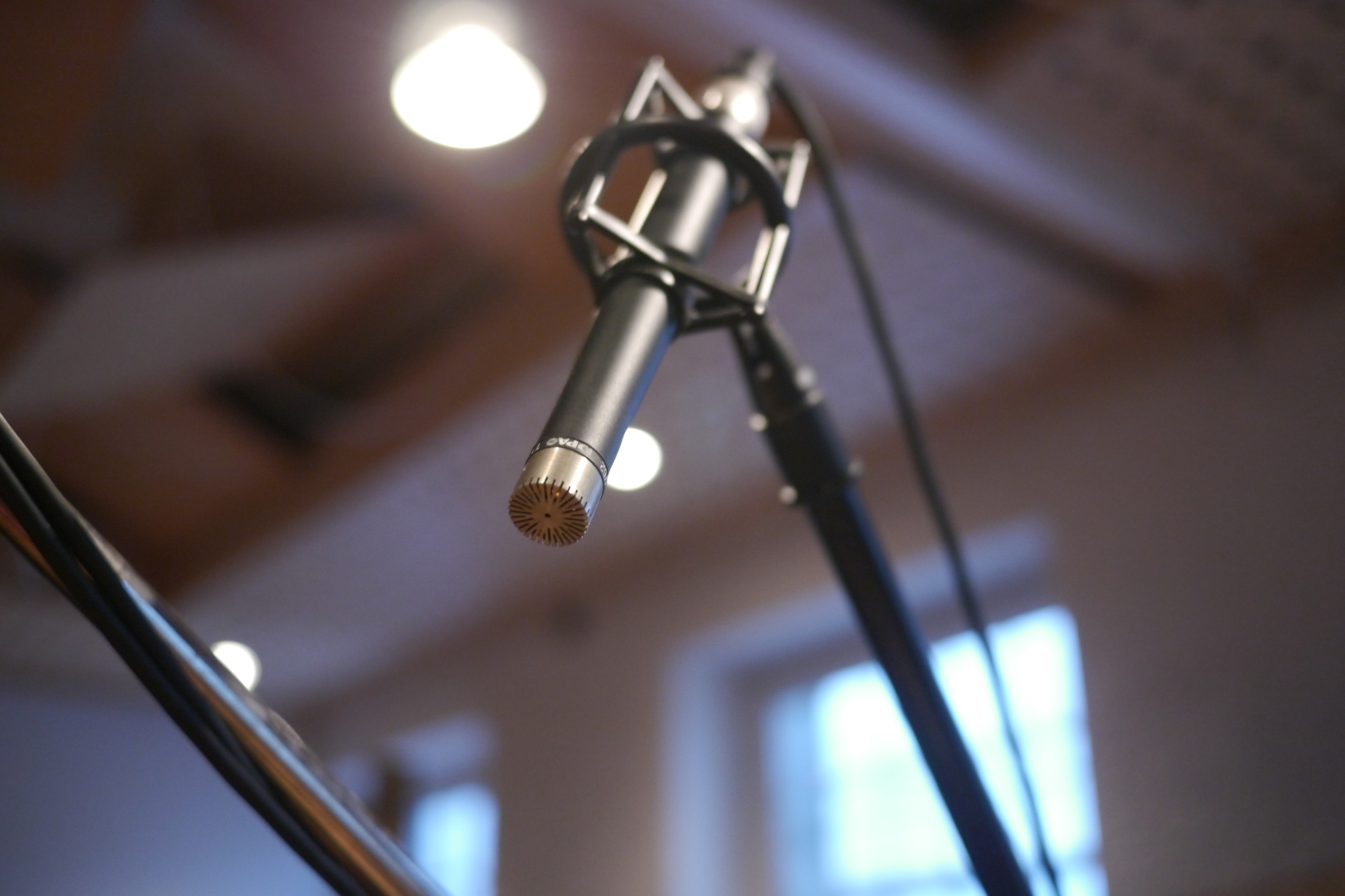 Microphones used:  DPA 4006 AB pair, Schoeps MK4 XY pair, Neumann KM130, AKG C451B