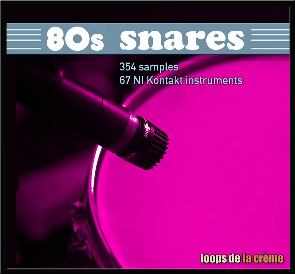 These one-shots were taken from    80s SNARES
