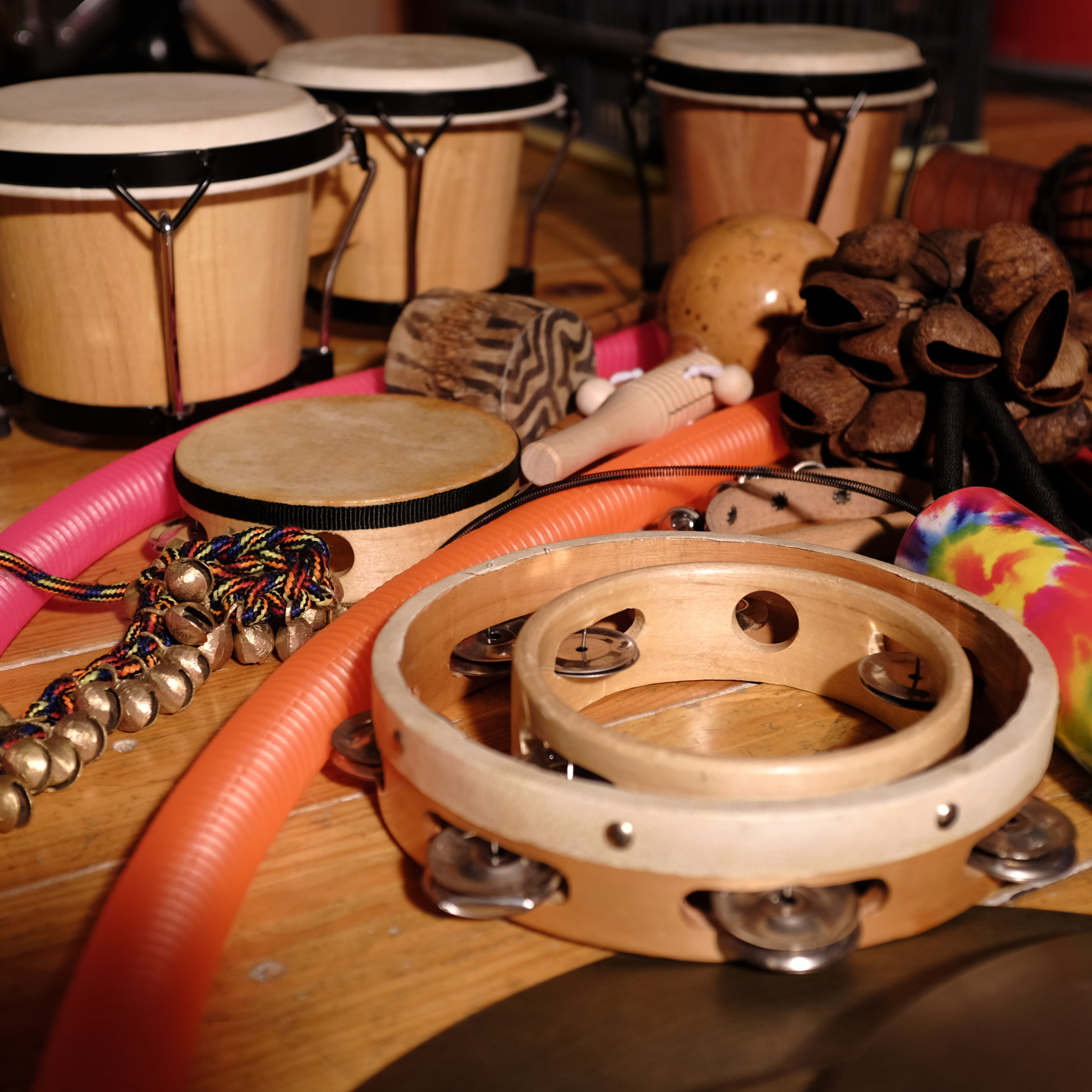 organic transitions _ percussion instruments