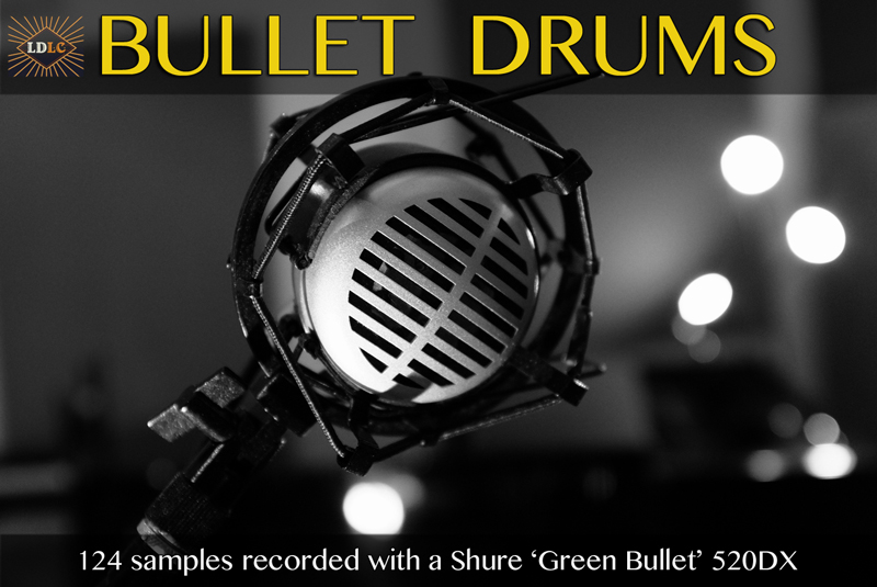 Green Bullet drum samples