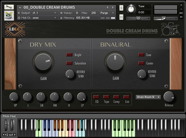 DOUBLE CREAM DRUMS_main GUI