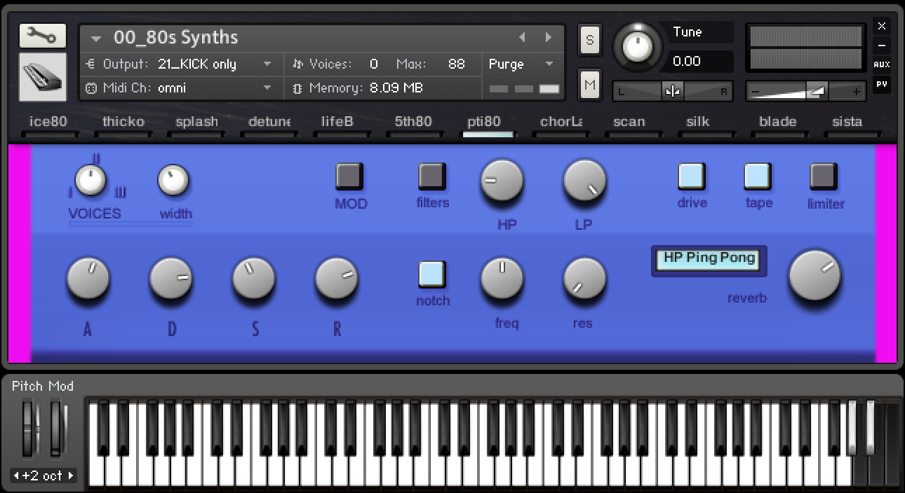 Kontakt libraries — loops de la crème