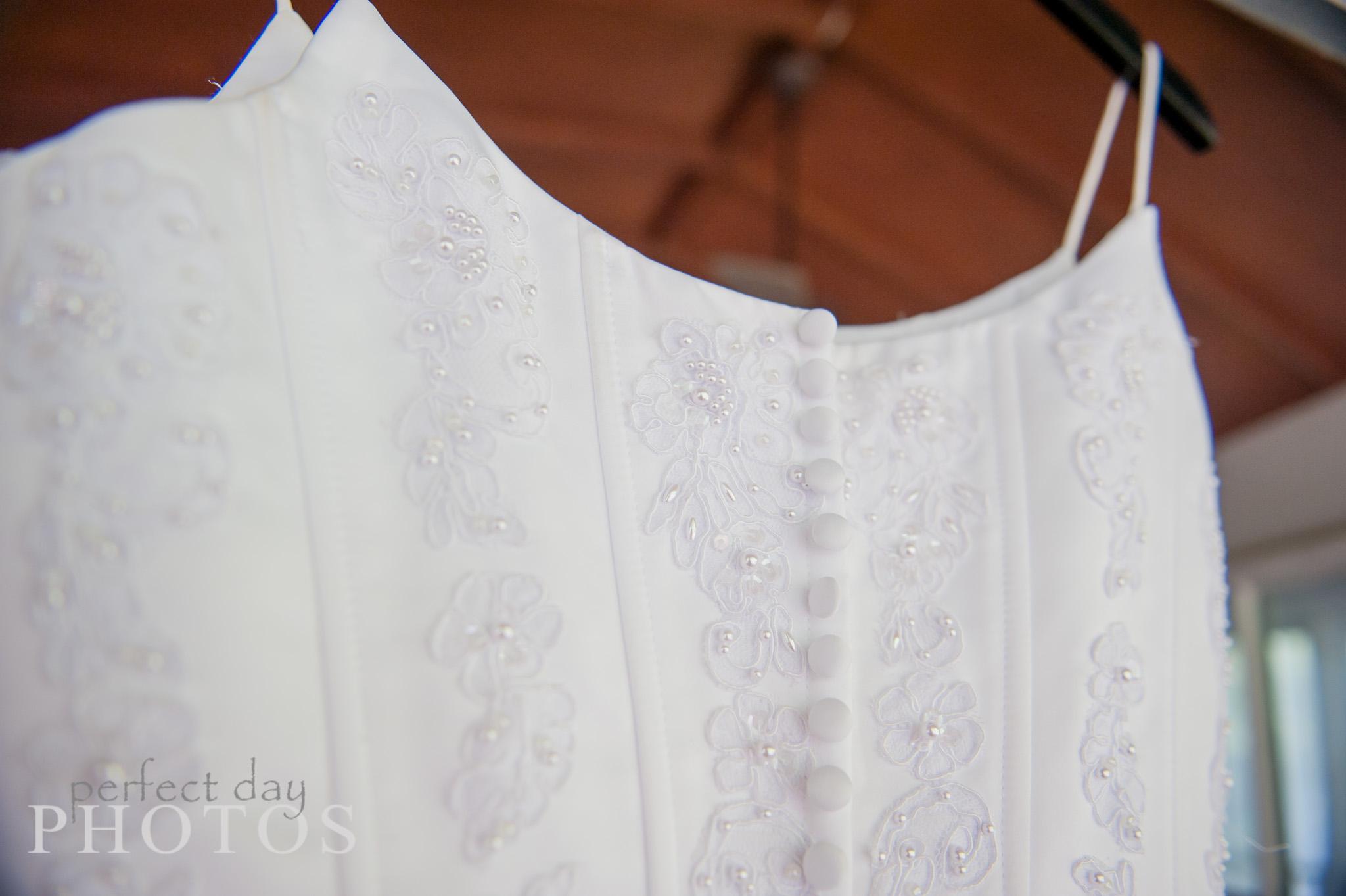 Wedding Dress always details.