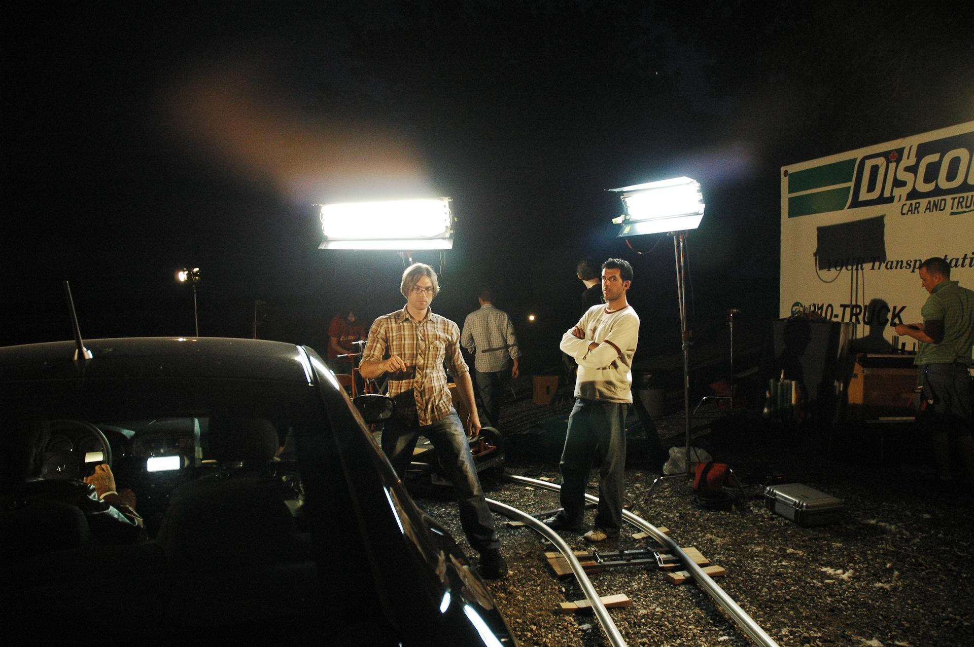 Director, Ken Simpson & Cinematographer, Alex Dacev