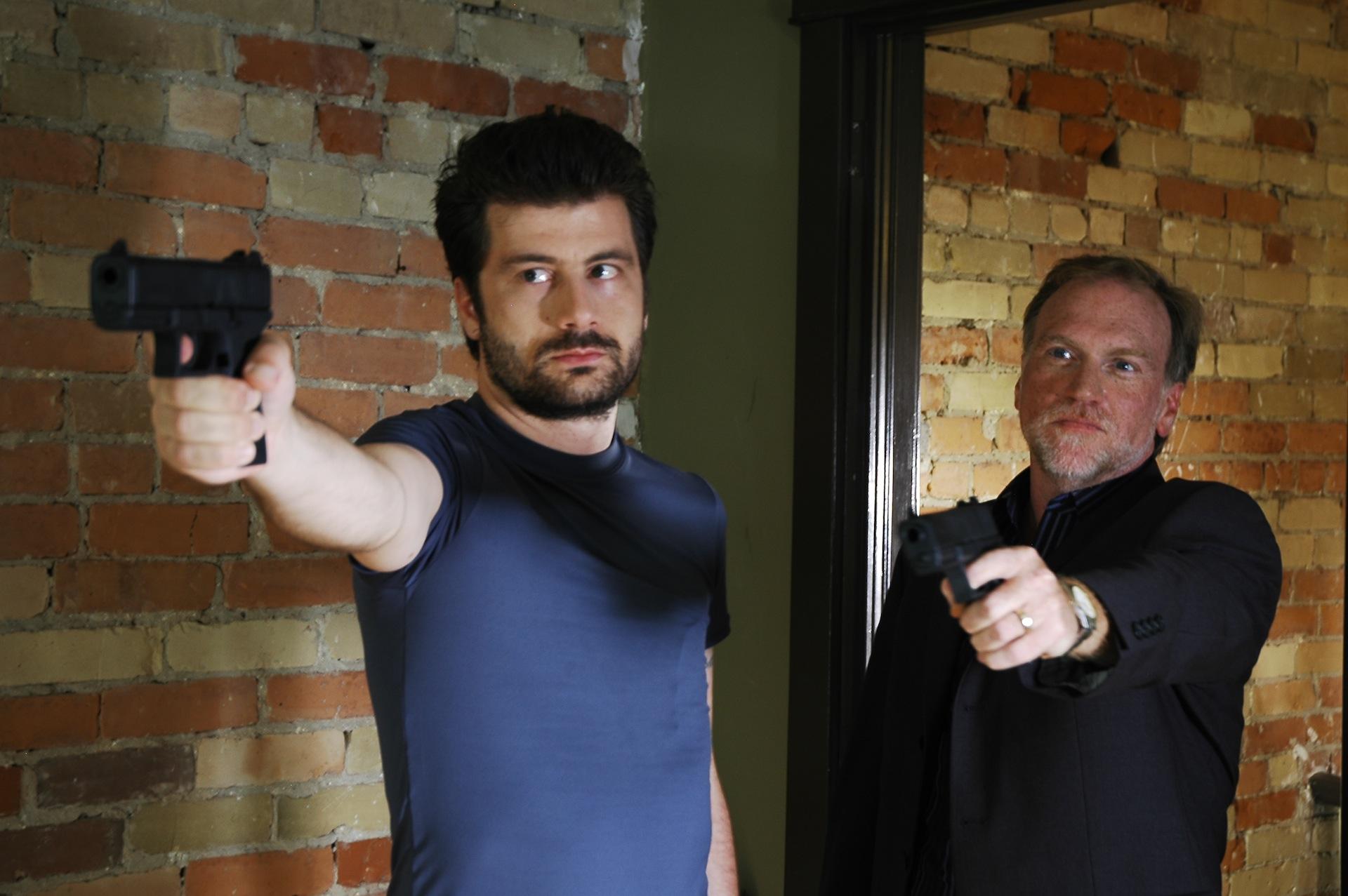 """Isaac Visaretis as """"Mickey"""" & Brian Scott as """"Brian"""""""